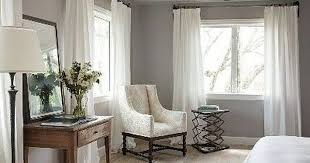 Grey Walls Bedroom White Curtains For Gray Walls My Living Space Pinterest
