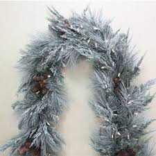 covered 6 battery operated garland