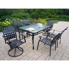 Patio Dining Sets Seats 6 - belham living san miguel cast aluminum 7 piece patio dining set