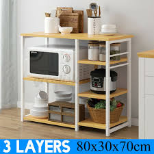 kitchen pantry storage cabinet microwave oven stand with storage us wooden 3 tiers microwave oven rack stand shelf kitchen storage organiser cart