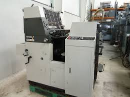 single colour used offset printing machines hamada b 52 sf