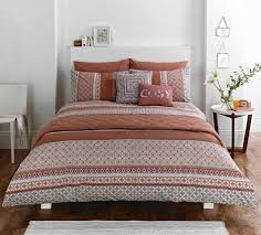 comforter ue bedding bedina brown burnt orange comforter set bed