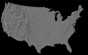 map of us without names maps us map no names