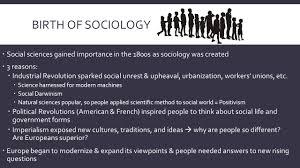 origins of sociology csi u2013 gorski definition of sociology the