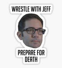 jeff meme stickers redbubble