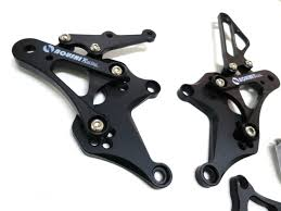 honda cbr 125cc adjustable rearset footpegs rear set 04 10 honda cbr125 cbr150