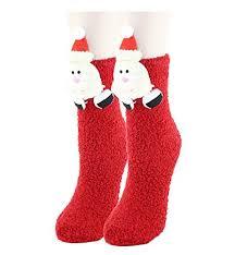 christmas socks womens fuzzy christmas socks with santa sweaters