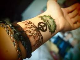 peace sign 15 peace sign tattoos for