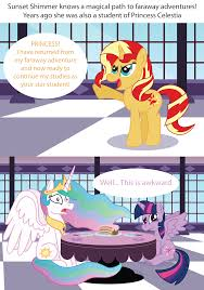 My Little Pony Know Your Meme - sunset shimmer returns my little pony friendship is magic know