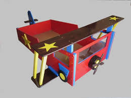Airplane Bed Hand Crafted Twin Bed Custom Bed Frame Airplane Bed Kid U0027s Bed By