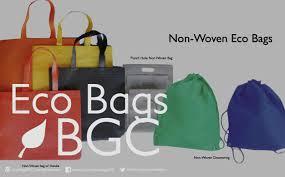 eco bag eco bags bgc start the green movement now