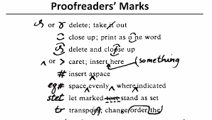 Editing And Proofreading Worksheets Rates On Standard Proofreading Marks Correction Proofreading Rates