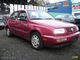1996 flash red volkswagen jetta trek edition sedan 21130226