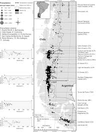 Patagonia South America Map Shrinking Patagonian Glaciers