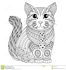 tabby cat coloring pages 838 best gatos images on pinterest coloring books zentangle and