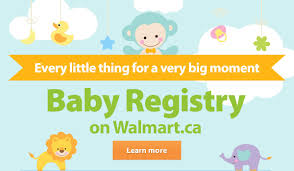 registry for baby walmart canada announcing our online baby registry milled