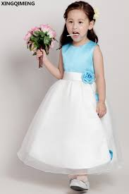 simple communion dresses light blue satin flower girl dresses cheap simple holy