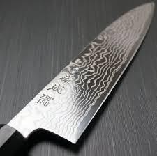 sukenari zdp189 damascus chef u0027s gyuto knife 210mm for professional