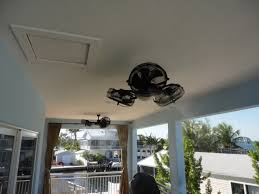 Misters For Patio by I Would Really Like One Of These Outdoor Misting Ceiling Fans And