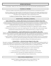 Audio Visual Resume Technical Resume Examples