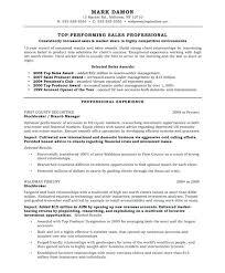 Car Sales Resume Sample Resume For Sales Agent Inside Sales Resume Sample Sample