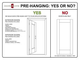 Prehung Exterior Door Home Depot Home Depot Pre Hung Exterior Door Handballtunisie Org