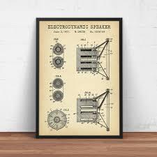 what size paper are blueprints printed on speaker patent print digital download speaker blueprint art