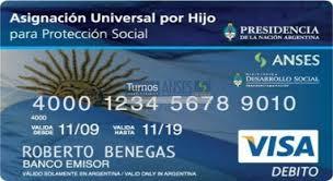 asignacin por hijos com denunciar la tarjeta de la asignación universal por hijo por robo o