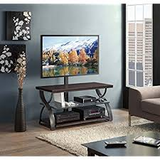 amazon black friday deals tv stand amazon com whalen furniture santa fe 3 in 1 tv stand kitchen