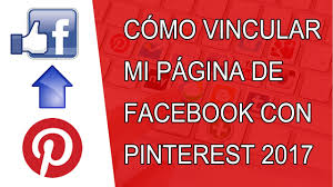 Pinteret How To Link Facebook Page To Pinterest 2017 Youtube
