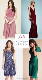 guest of wedding dresses fall wedding guest dresses what to wear to a fall wedding