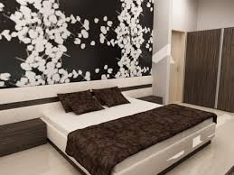 Contemporary Bedroom With Line Wall Stencils Bedroom Wall Art - Flower designs for bedroom walls
