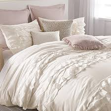 perfect white ruffle duvet cover twin 30 about remodel most