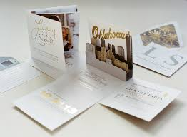 wedding invitations okc wedding invitations sophisticated stationery for winter weddings