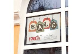 window posters retail graphics posters window graphics printed fast imagers