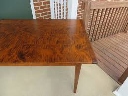 tiger maple wood pennsylvania table great windsor chairs