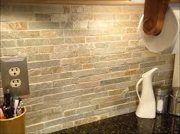 kitchen backsplash with white cabinets glass subway tile