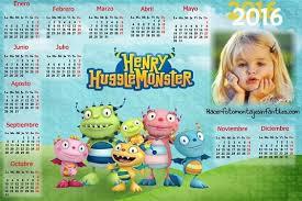 fotomontaje de calendario 2015 minions con foto hacer fotomontaje de calendario 2016 de henry monstruito feliz