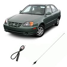 hyundai accent antenna hyundai accent 1995 2005 factory oem replacement radio stereo