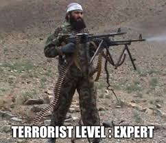 Level Meme - terrorist level expert imgflip