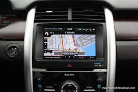 2011 Ford Edge Limited Reviews 2012 Ford Edge Limited Ecoboost Interior Ford My Touch 2012