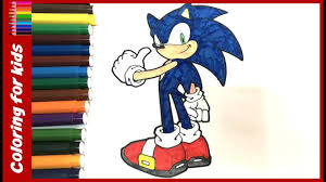 sonic the hedgehog printable coloring book coloring pages for