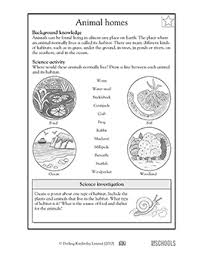 free printable 3rd grade science worksheets word lists and