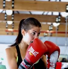 claudia sampedro boxing at the gym boxing and fitness the gym