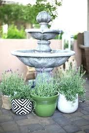 solar fountains with lights solar garden fountains backyard fountains home depot a courtyard