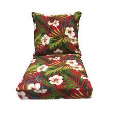 Lowes Patio Chair Cushions Shop Garden Treasures 1 Seat Patio Chair Cushion At