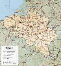 Northwestern Europe Map by Map Belgium Travel Europe