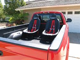 bed of truck bedryder truck bed seating system