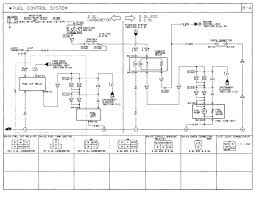 1991 mazda b2600i wiring diagram fuel control fuel pump relay