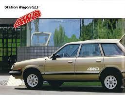 1982 Australian Subaru Brochure Station Wagon Glf Vintage
